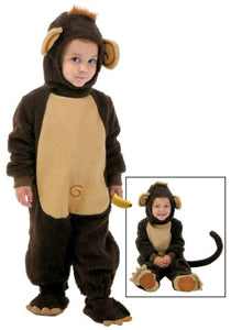 Fun Costumes Toddler Funny Monkey Costume 2T