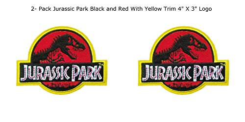 Blue Heron Jurassic Park Movie Logo  Embroidered Iron/Sew-On Applique Patches