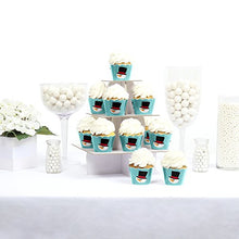 Load image into Gallery viewer, Let It Snow - Snowman - Holiday Party Cupcake Wrappers - Set Of 12