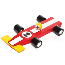 Load image into Gallery viewer, Wooden Racing Car Craft Kits For Children To Assemble Decorate And Give As Father'S Day Gift