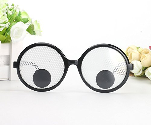 Yigooood Funny Googly Eyes Goggles Shaking Party Glasses Toys For Party Cosplay Costume Party Decoration