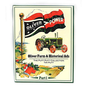 191 Page Collection Of `Oliver Power` Tractor Magazine Ads