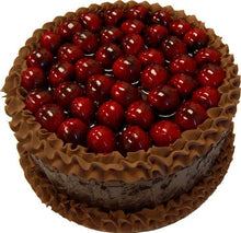 Load image into Gallery viewer, 9  Chocolate Cherry Top Fake Cake