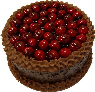 9  Chocolate Cherry Top Fake Cake