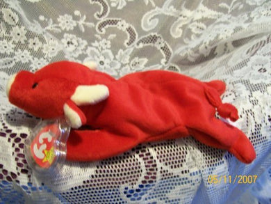 Ty Beanie Baby - Tabasco The Bull (4Th Gen Hang Tag)