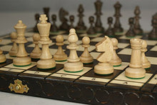 Load image into Gallery viewer, Quality 35Cm/14In Tournament No.3 Chess Set, Handcrafted By Madon