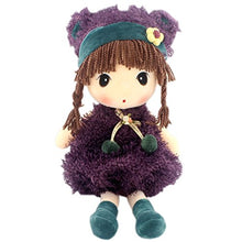 Load image into Gallery viewer, Jiaru Soft Stuffed Toys Doll Plush (Purple 17.7 Inches)