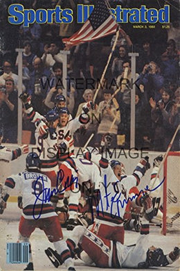 1980 Us Olympic Hockey Sports Illustrated Poster - 3/3/80