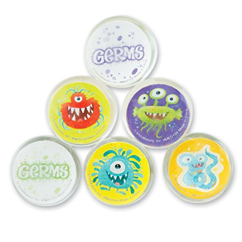 Germ Squad Bouncing Balls - Prizes And Giveaways - 48 Per Pack