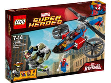 Load image into Gallery viewer, Lego Marvel Super Heroes The Amazing Spider-Man Helicopter Rescue | 76016