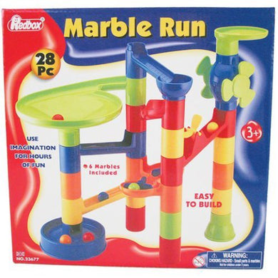 Wow Toyz Momr28 Marble Run 28 Piece Playset