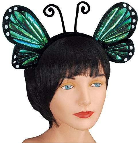 Loftus International Butterfly Antenna With Wing Headband, Blue, One Size