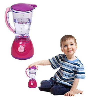 Toy Cubby Kids Pretend Play Battery Operated Toy Blender Set With Colorful Lights And Music