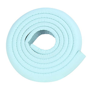 2X2M/13Ft Decorative Edge Protector For Panel Baseboard Corner Protector Picture Edge Protector Light Blue