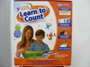 Hooked On Phonics Math Learn To Count