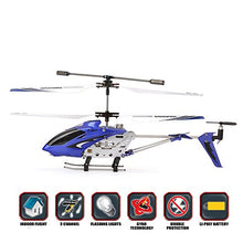 Load image into Gallery viewer, Syma S107G 3Ch Rc Radio Mini Alloy Remote Control Helicopter With Gyro Genuine Blue