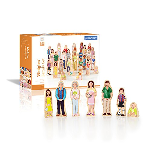 Wedgies Multi-Cultural Family Set Kids Children