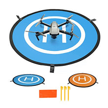Load image into Gallery viewer, Cusfull Rc 75Cm Drone Quadcopter Launch Pad Helipad Helicopter Collapsible Mini Landing Pad For Mavic Pro Phantom 2 3 4 Inspire 1 Safe Protective Accessories