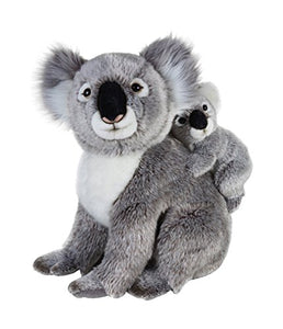 National Geographic Stuffed Animals Plush Toy (2 Piece), Mother With Baby Koala