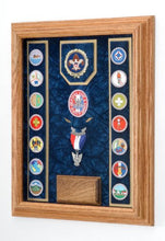 Load image into Gallery viewer, Award Medal Display Case 12X16 (Blue/Navy)