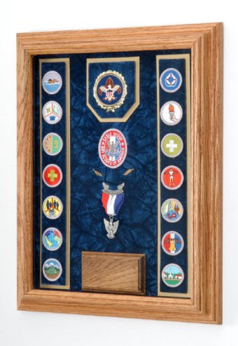 Award Medal Display Case 12X16 (Blue/Navy)
