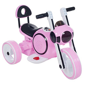 3 Wheel Led Mini Motorcycle , Ride On Toy For Kids By Rockin Rollers  Battery Powered Toys