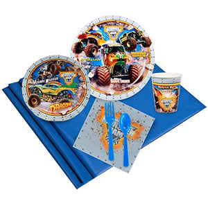 Monster Jam Party Supplies - Party Pack For 32