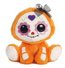 Load image into Gallery viewer, Aurora World Day Of The Dead Orange Plush