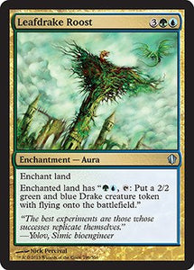 Magic: The Gathering - Leafdrake Roost (196/356) - Commander 2013