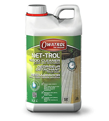 Owatrol Net-Trol, Wood Cleaner, 1 Liter