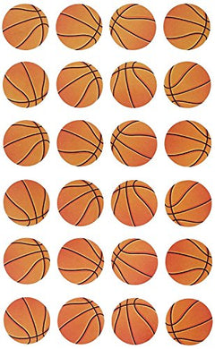 Darice 72-Piece Basketball Stickers (Value Pack)
