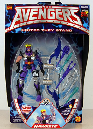 Hawkeye Action Figure Toy (The Avengers) By Marvel Comics