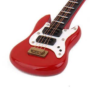 Dollhouse Music Guitar Electric 1:12 Mini Miniature Instrument Classical Dolls Accessory Fashion Styles