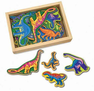 Melissa & Doug Magnetic Dinosaurs In A Box