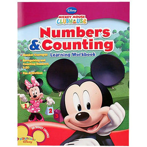 Disney 1459 Mickey Mouse Numbers & Counting Learning Workbook
