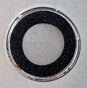 25 Air-Tite H Black Ring Coin Holders For 31Mm Coins