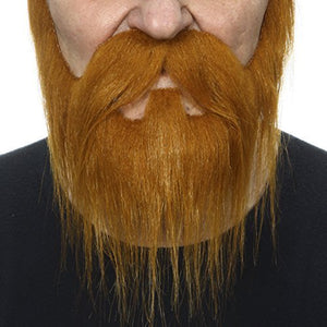 Nomad Ginger Beard And Mustache
