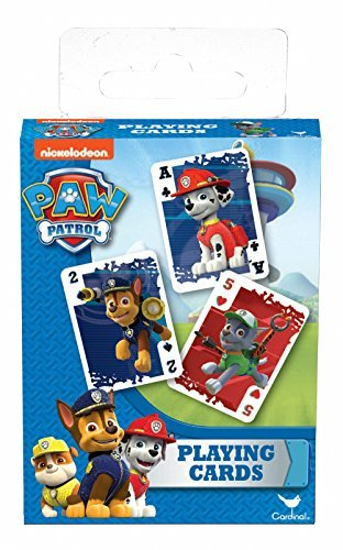 Paw Patrol Playing Card Deck By Cardinal