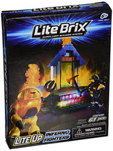 Load image into Gallery viewer, Cra-Z-Art Lite Brix Inferno Fighters Figures