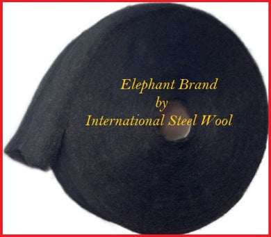 #0000 Steel Wool, 5 Lb Roll