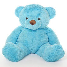 Load image into Gallery viewer, Sammy Chubs - 46 - Irresistibly Soft & Cuddly, Sky Blue Plush Bear By Giant Teddy