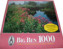 Load image into Gallery viewer, Big Ben Lawrence Brook Royalston Massachusetts 1000 Piece Puzzle By Milton Bradley