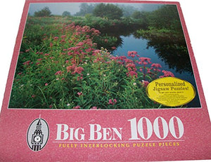 Big Ben Lawrence Brook Royalston Massachusetts 1000 Piece Puzzle By Milton Bradley
