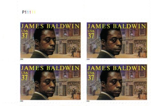 2004 James Baldwin #3871 Plate Block 4 X 37 Cents Us Postage Stamps