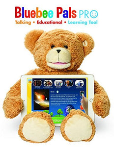 Bluebee Pal Pro Bear - Talking Plush Educational Learning Toy