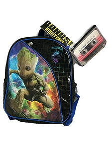 Groot Guardians Of The Galaxy Volume 2 Kids Backpack 12 Inch With Bonus Utility Case!