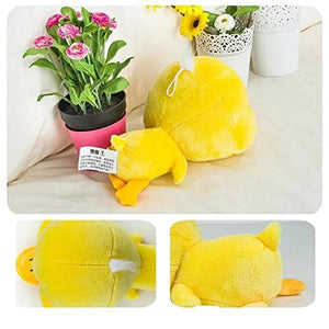 Creative Yellow Duck Doll Plush Animal Stuffed Toy Trumpet Meng Pet Birthday Valentine Gift 11.8