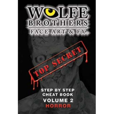 Wolfe Cheat Book, Volume 2, Horror  By Wolfe Face Art