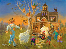 Load image into Gallery viewer, Spooky Halloween 300 Piece Jigsaw Puzzle By Sunsout
