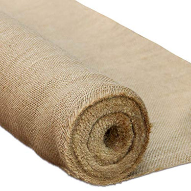 Ruspepa Natural Burlap Fabric Rolls - Rustic Burlap Suitable For Agriculturetasksand Crafts - 40Inch X 10Yard